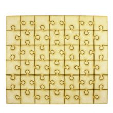 Wooden 42 Piece Jigsaw Puzzle - Various Sizes